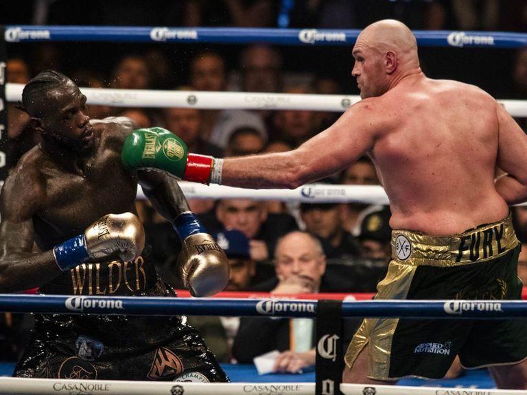 Tyson Fury: Rematch with Wilder scheduled for Feb. 22