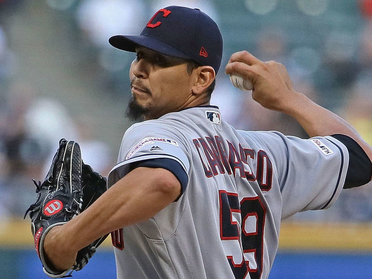 Indians' Carrasco to pitch out of bullpen if he returns in 2019