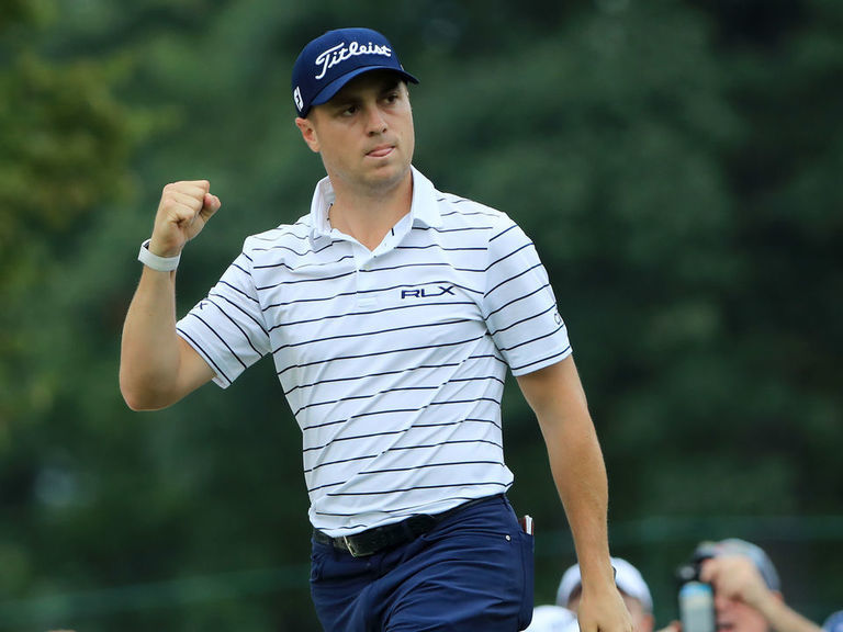 Thomas fires course-record 61 to take 6-shot lead at BMW Championship