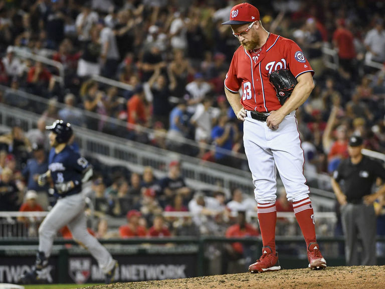 Nationals' Doolittle sent to IL after latest implosion