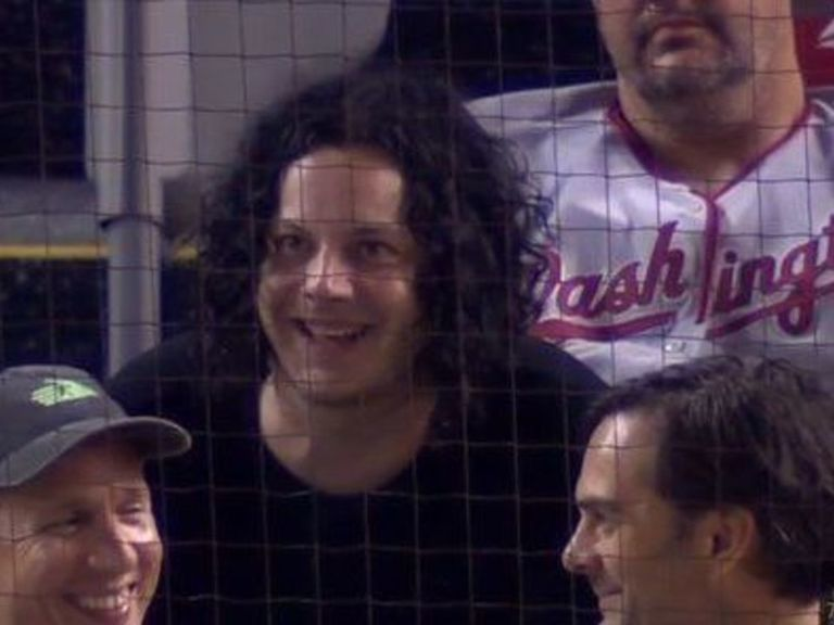 Jack White left Nats game to play concert, returned in extra innings