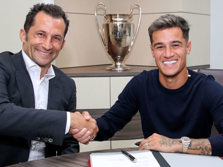Coutinho joins Bayern with €120M option to buy