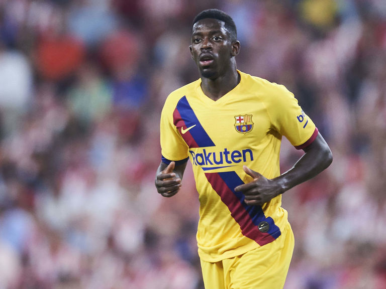 Dembele to miss 5 weeks as Barca's injury problems mount
