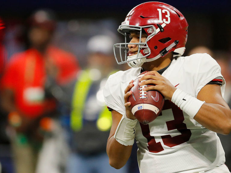 Ranking the SEC's starting QBs: Tagovailoa, Fromm in a tier of their o