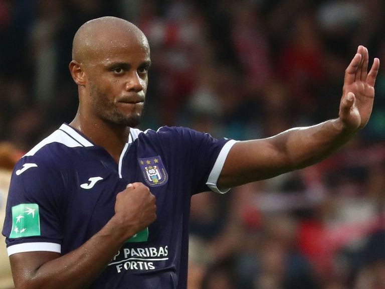 Kompany changes matchday role at Anderlecht after poor start