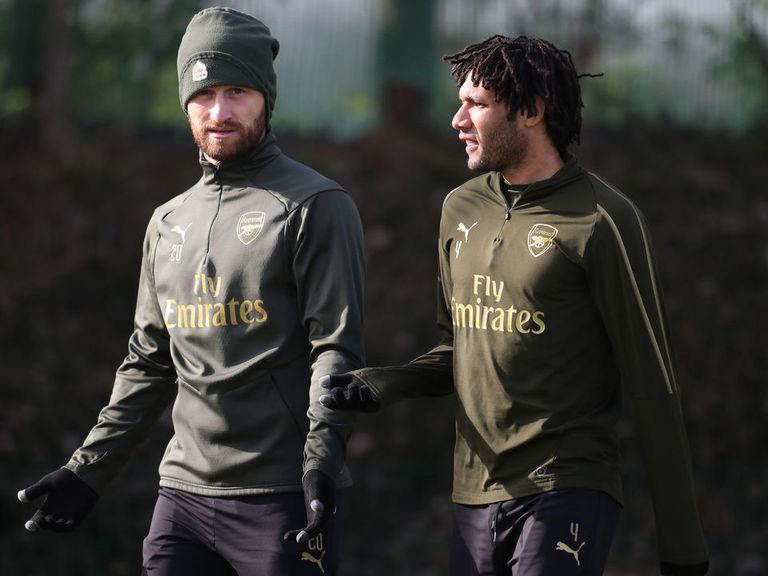 Emery: Mustafi, Elneny should leave Arsenal