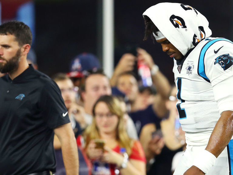 Newton wearing walking boot, but foot injury reportedly isn't serious