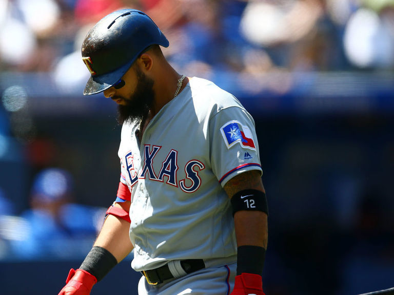 Rangers GM: Odor should expect competition at 2B if struggles continue
