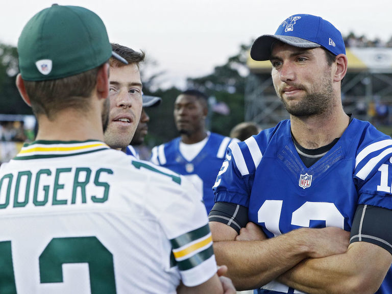 Rodgers: Leak of Luck's retirement, crowd reaction was 'disgusting'
