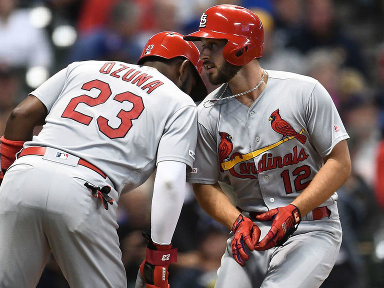 Cardinals open key divisional series with drubbing of Brewers