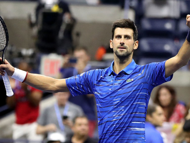 Djokovic sweeps Kudla in straight sets to advance to US Open 4th round