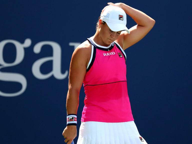 World No. 2 Barty bounced from US Open by Qiang Wang