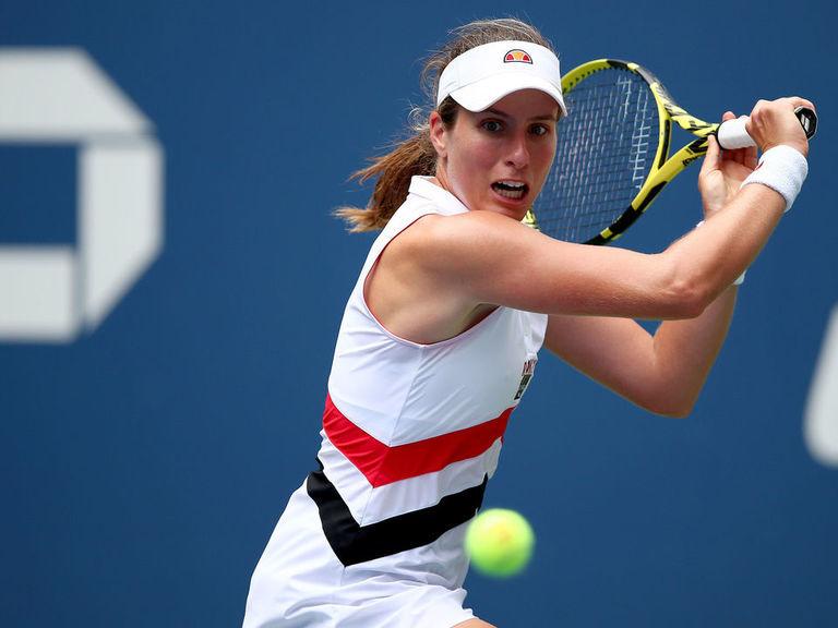 Konta eliminates No. 3 Pliskova to secure quarters spot