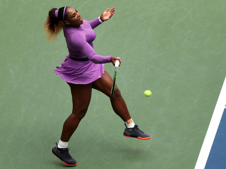 Serena overcomes ankle issue to reach US Open quarterfinals