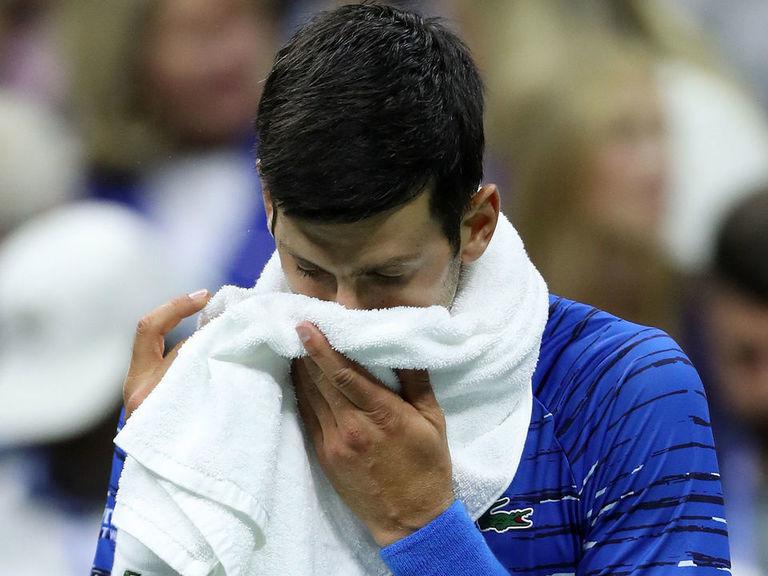 Djokovic out at US Open after retiring versus Wawrinka in 3rd set