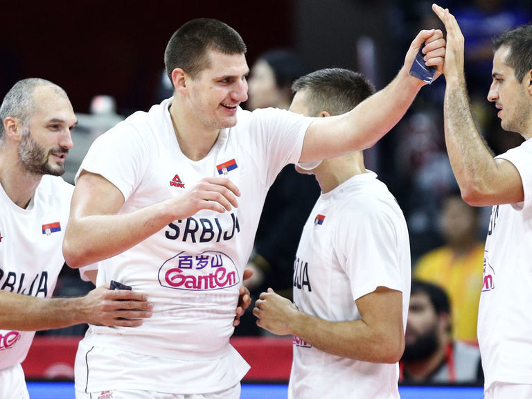Serbian quintet perfect from the floor in rout of Philippines