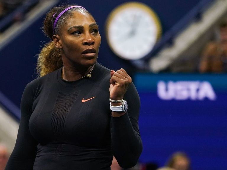 Dominant Serena needs just 44 minutes to secure semifinal spot