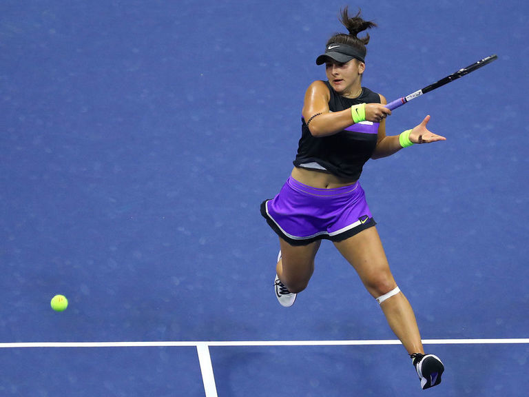 Andreescu outduels Bencic at US Open to reach 1st Grand Slam final