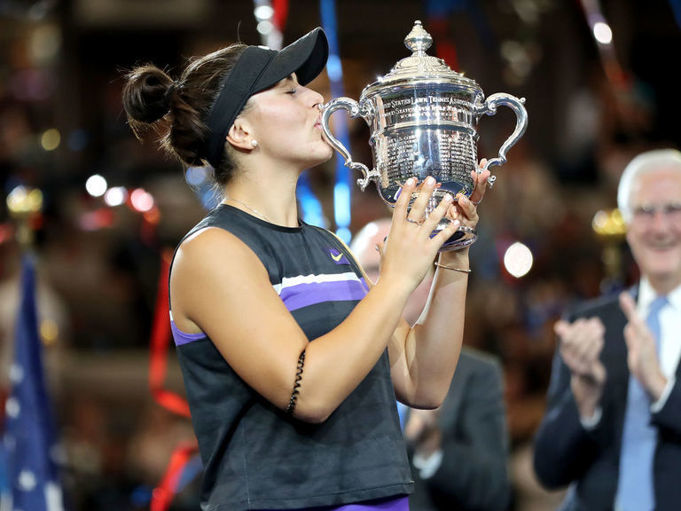 Andreescu stuns Serena in straight sets to win US Open title