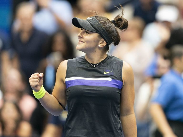 Andreescu skyrockets to No. 5 after historic US Open triumph
