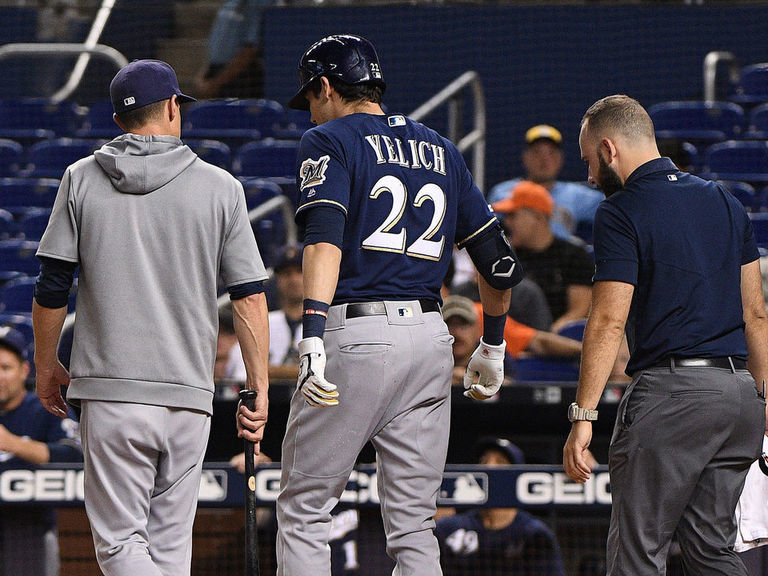 MLB podcast: Down goes Yelich / Red Sox dump Dombrowski