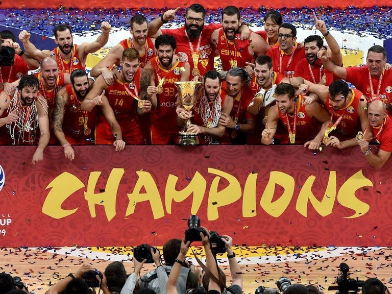 Spain trounces Argentina to win 2nd FIBA World Cup gold medal