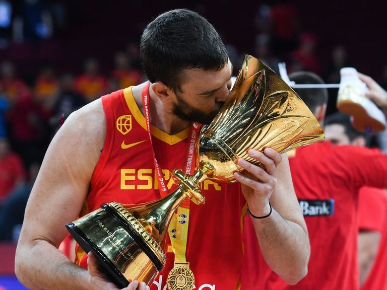 Gasol joins prestigious list with NBA title, World Cup double