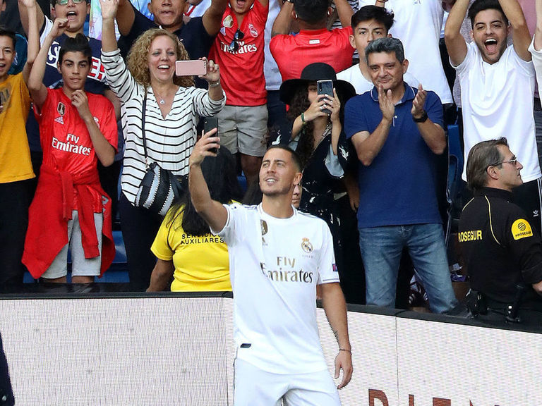 Hazard: Real Madrid supporters are more fanatical than English fans