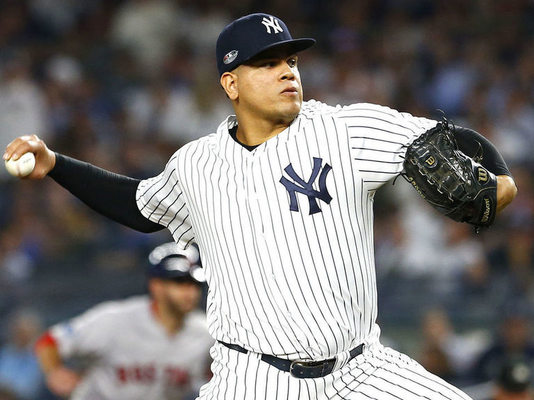 Yankees' Betances out for season with partially torn Achilles