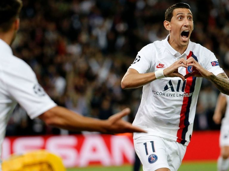Di Maria double leads weakened PSG to win over Real Madrid