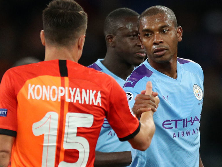 What crisis? Fernandinho tailor-made for City's depleted defense