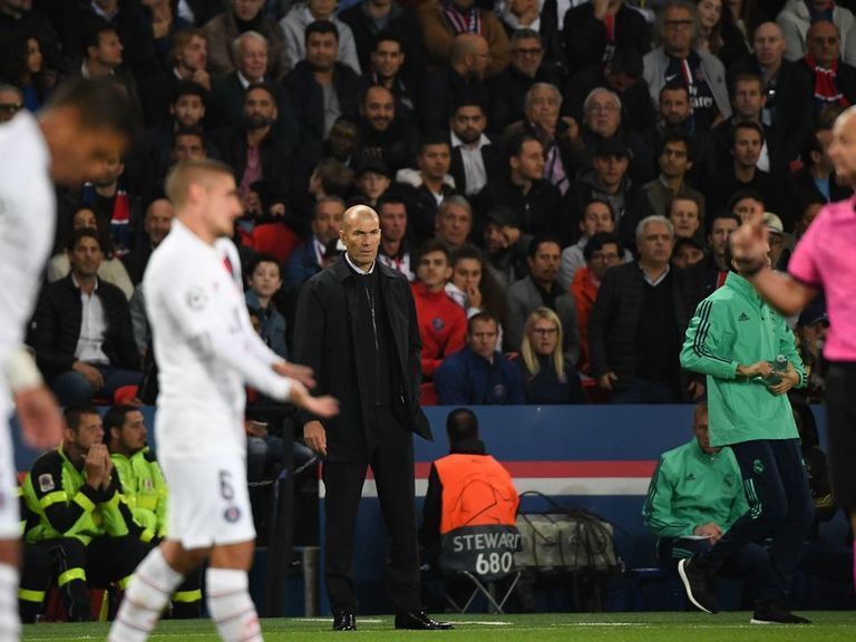 Zidane: PSG 'better than us in every department'