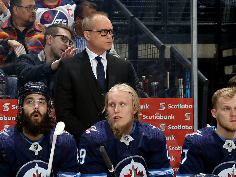 Jets' Maurice takes jab at Laine during postgame presser