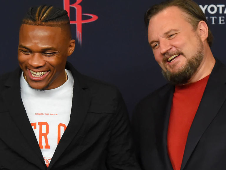 Rockets' Morey: 'We're favorites' in the West