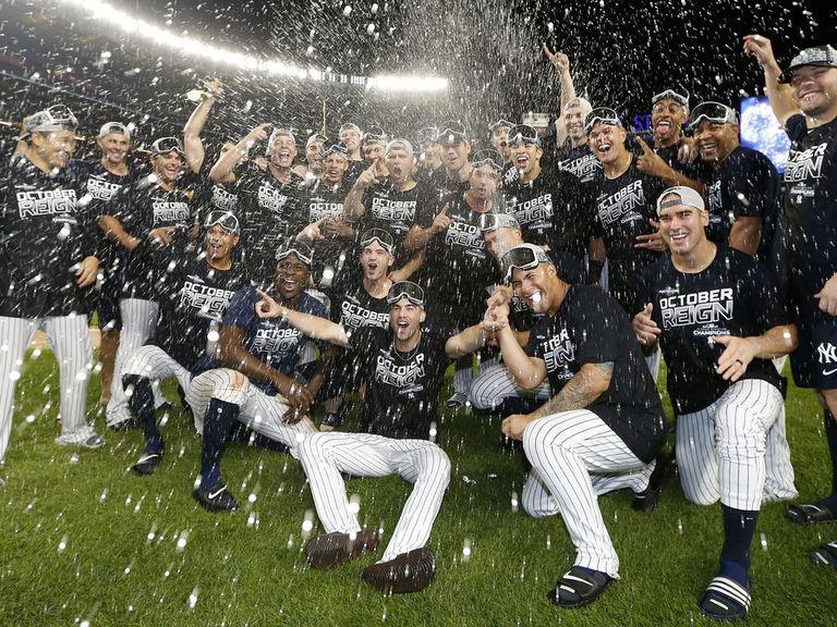 Yankees win 1st AL East title since 2012