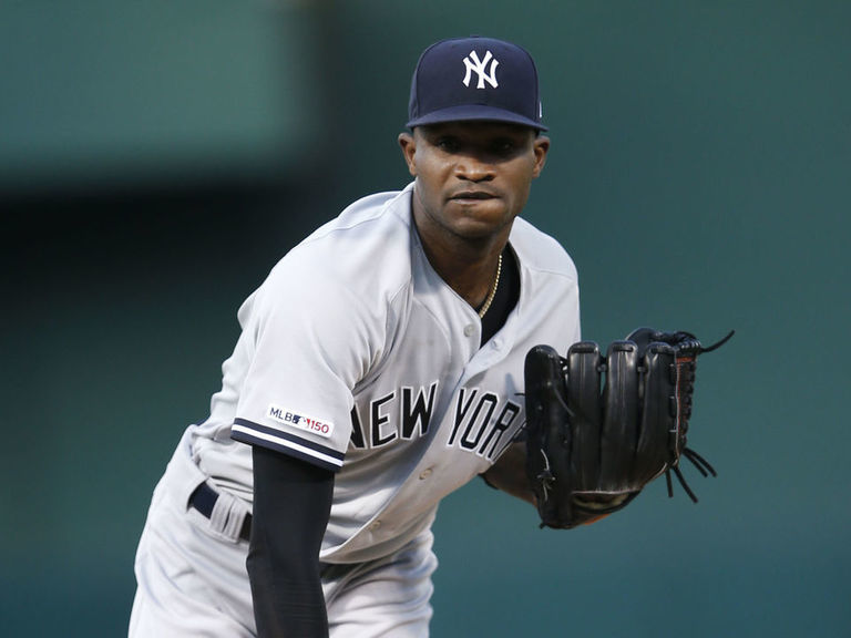 Yankees' German unhurt after car accident in Dominican Republic