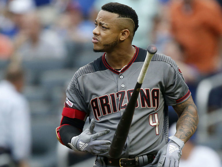 D-Backs' Marte out for remainder of season with stress reaction in bac