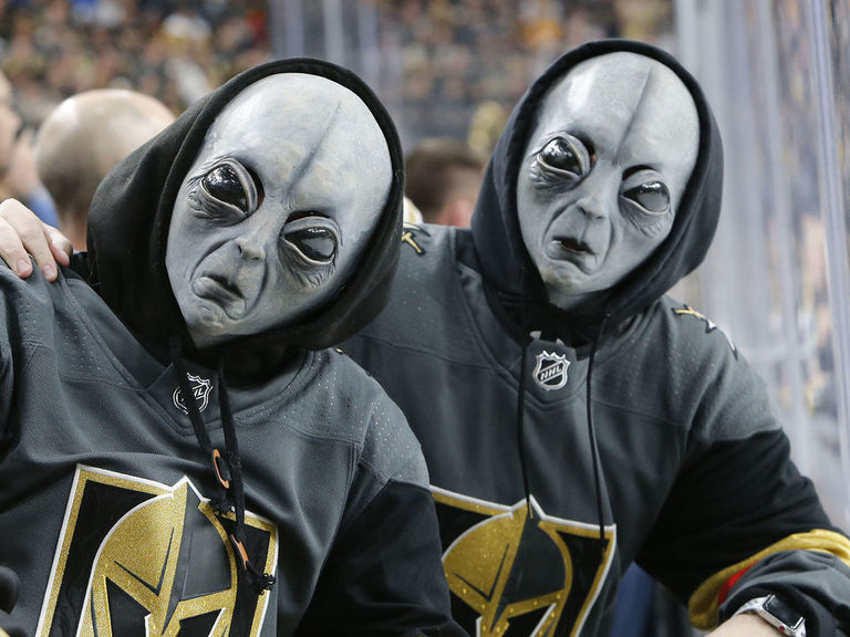 Golden Knights weigh in on aliens, Area 51: 'There's something there'