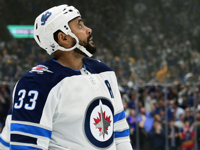 low priced e9622 6a02a Jets suspend Byfuglien for failing to report to camp ...