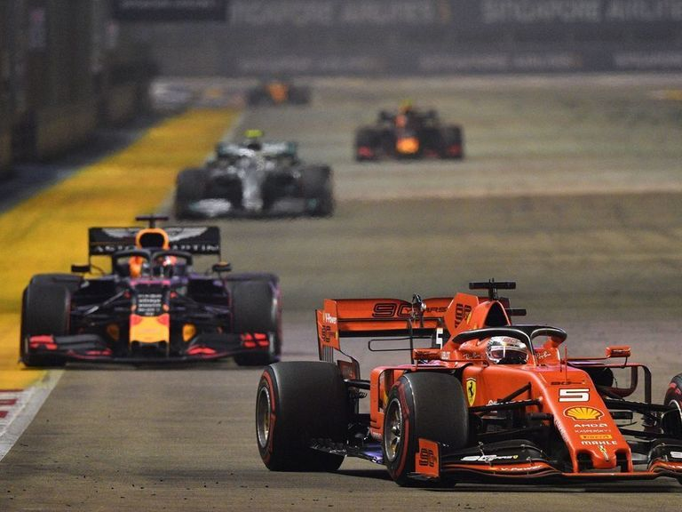 Vettel wins 5th career Singapore GP for 1st victory of 2019