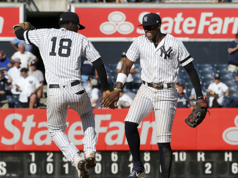 Yankees secure home-field advantage in ALDS
