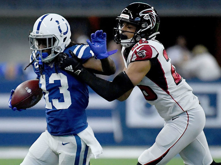 Hilton ruled out vs. Falcons with quad injury
