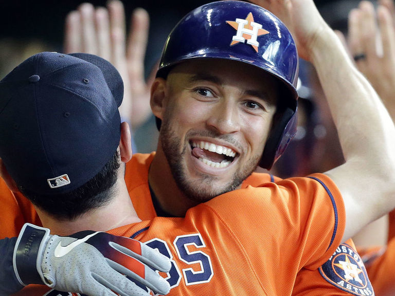 Astros clinch 3rd straight AL West title