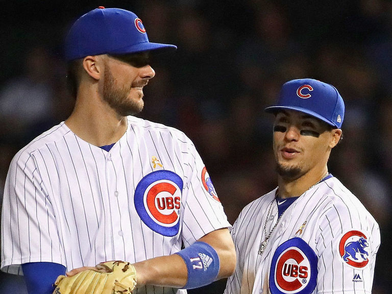 Epstein not ruling out trading Baez, Bryant: 'We're at a transition po