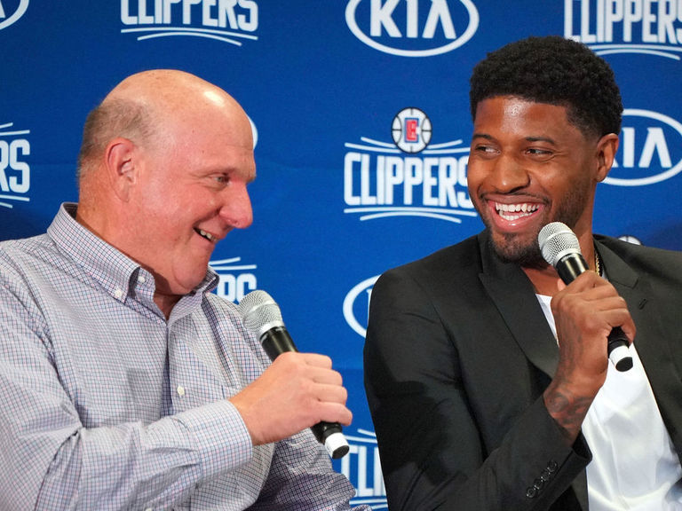 Forbes: Clippers' Ballmer is richest sports team owner in U.S.