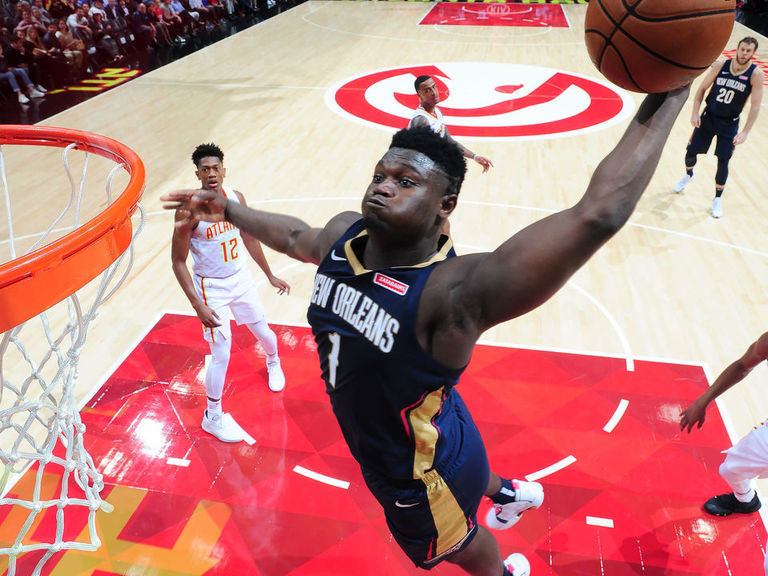 Zion a 'game-time' decision for Slam Dunk contest