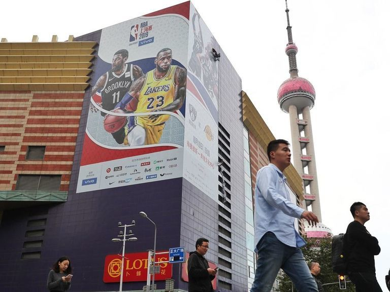Congress members urge NBA to suspend business in China