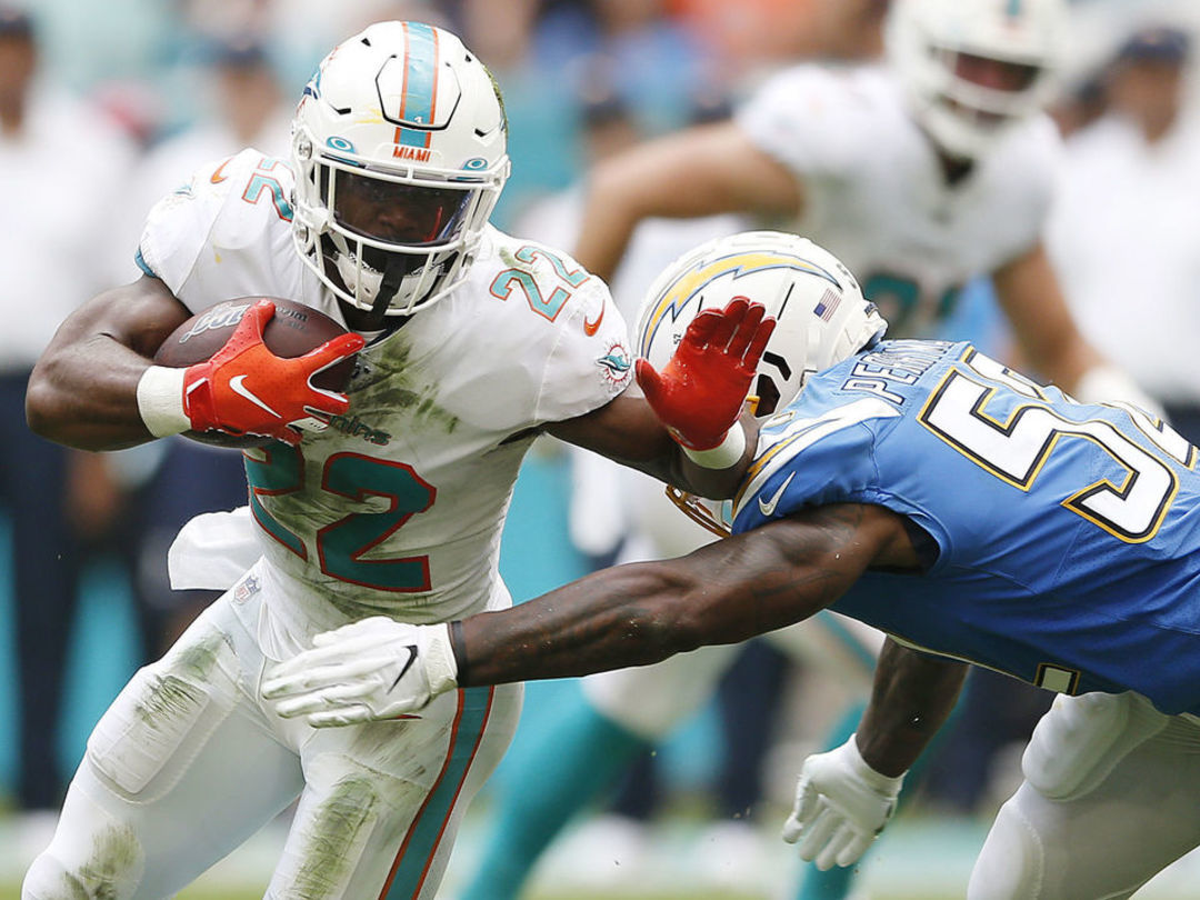 Dolphins cut Mark Walton after arrest for aggravated battery of pregnant woman