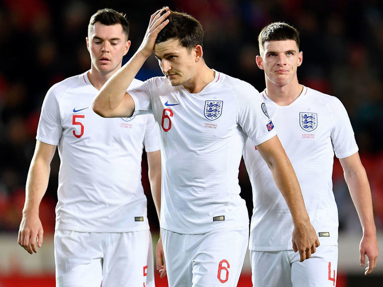 Czech Republic deals England setback in Euro qualifying