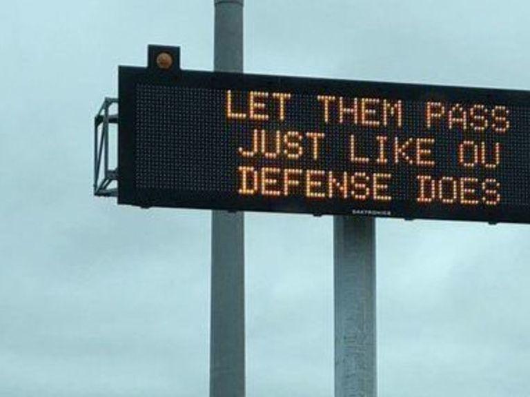 Texas Department of Transportation trolls Oklahoma